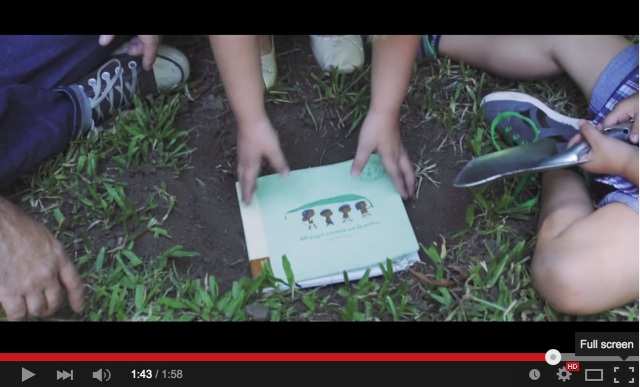 Tree Book Tree Published on 3 May 2015 The first book that can be planted after it is read. FCB Buenos Aires