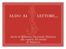 Invitation from the Biblioteca Nazionale Marciana