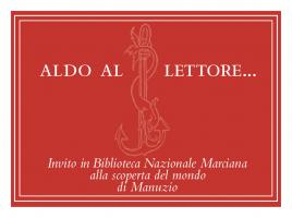 Invitation from the Biblioteca Nazionale Marciana