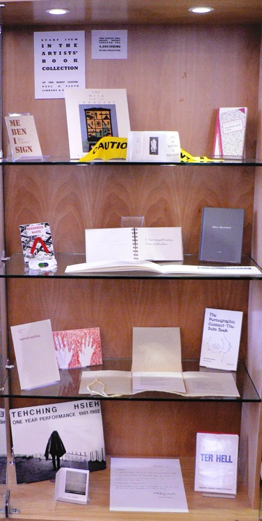 Every Item in the Artists' Books Collection