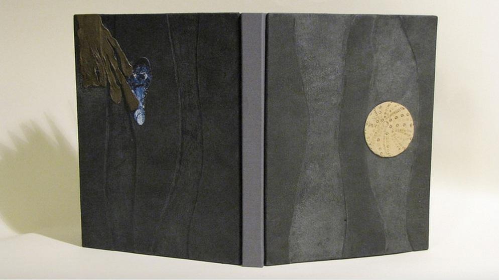 Anne McClain, Place Drum Leaf Binding  19 x 15 x 1.8 cm  February 2014