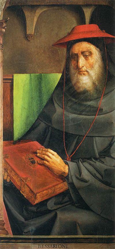 Justus van Gent and Pedro Berruguete , Le Cardinal Bessarion (Les Hommes Illustres)