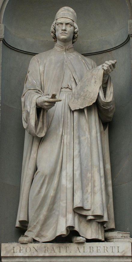 Leon Battista Alberti, Piazza degli Uffizi, Florence