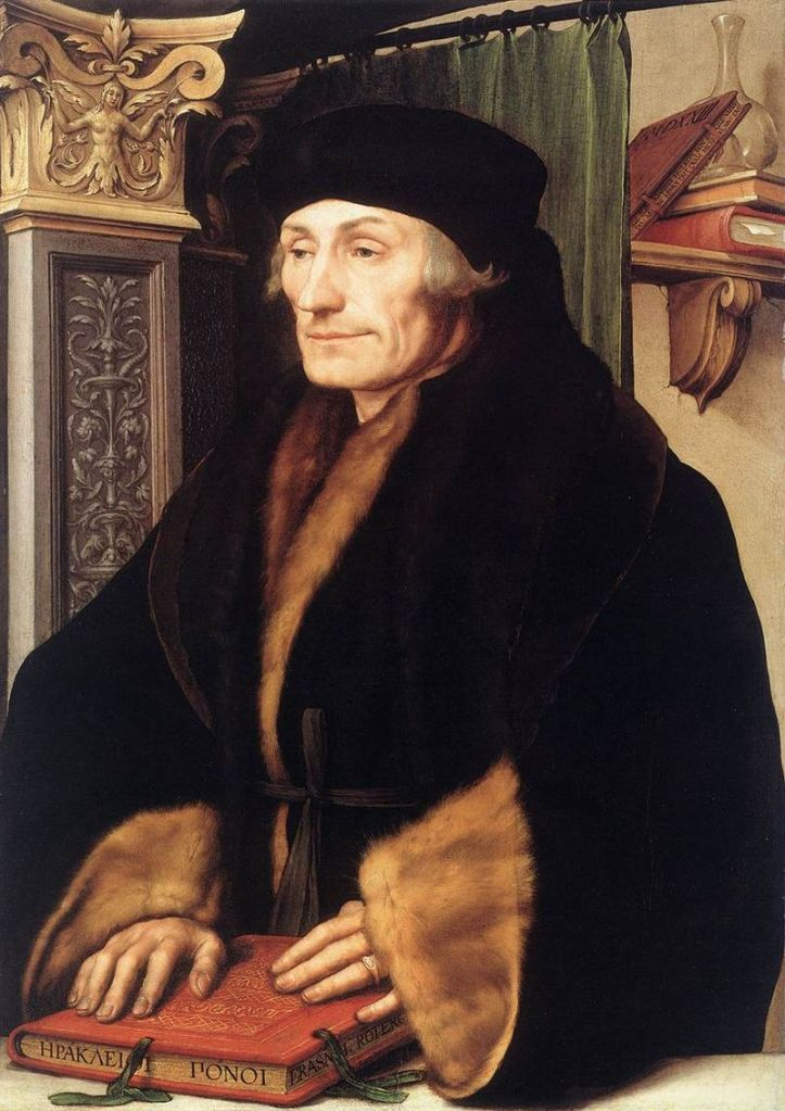 Desiderius Erasmus, 1523?, Hans Holbein the Younger