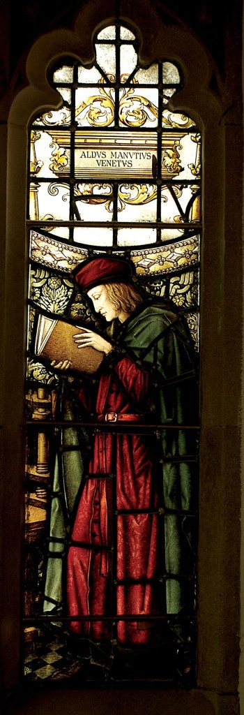 Aldus Manutius, John Rylands Library, University of Manchester