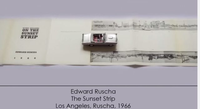 Giulio Maffei, Edward Ruscha's The Sunset Strip, 1966, 2015