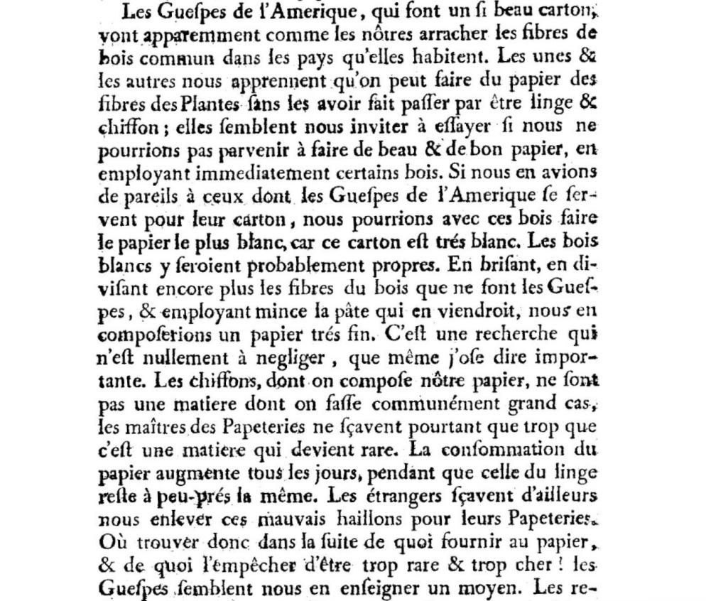 """René Antoine Ferchault de Réaumur, """"Histoire des guêpes"""", Mémoire de l'Académie royale des sciences avec 7 planches (252) - En 1719, imprimé en 1721. http://www.academie-sciences.fr/pdf/dossiers/Reaumur/Reaumur_publi.htm. Accessed 12 September 2016."""