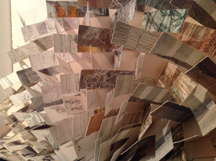 """All the Prints I Have Made, 2010 From """"Artists' Books"""" exhibition at The Riverside Gallery, Richmond, UK 29 November 2014 - 14 February 2015"""