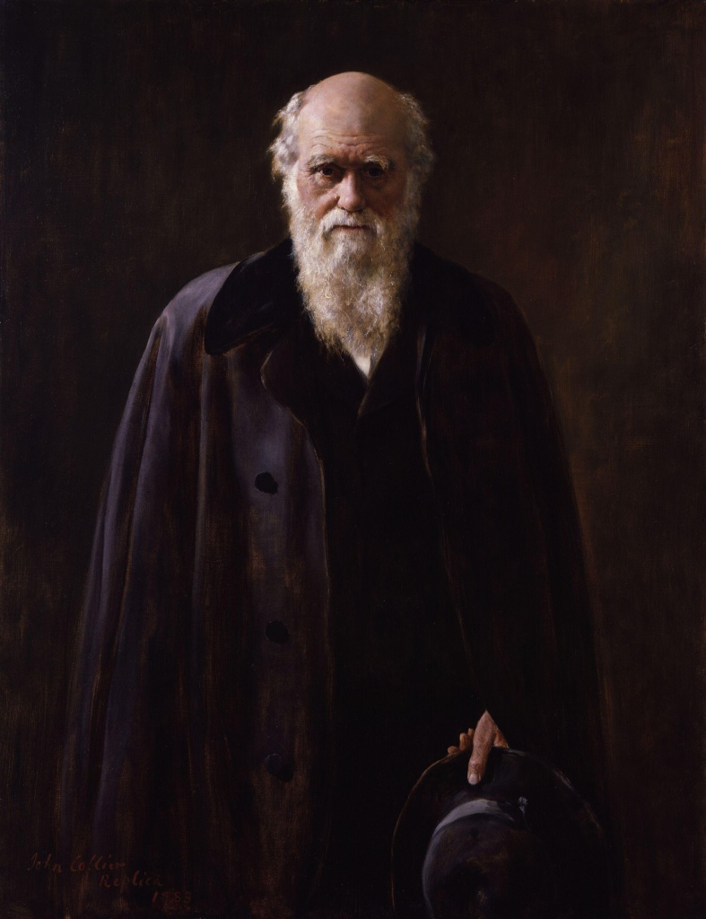 Charles Robert Darwin by John Collier