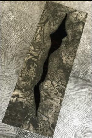 Holuhraun, 2014-2015. Top view of closed box.