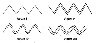 """From Hedi Kyle, """"Orihon's Triumph: Origin and Adaptations of the Concertina Fold"""", The Ampersand, Vol. 3, No. 2, December 1982."""