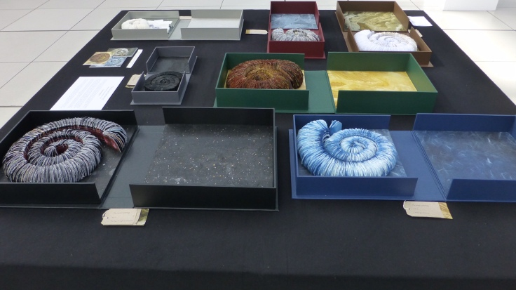 Chris Ruston The Great Gathering, Seven books, seven moments in time (2015) Mixed media