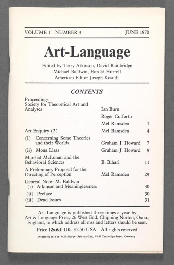 Books on books curated by robert bolick burn ian ramsden mel notes on analyses 1 coventry art language press 1970 image fandeluxe Images